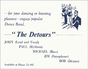 Early Detours Promotional Card