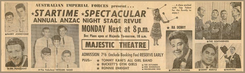 *Startime* Spectacular Concert Newspaper Advertisement